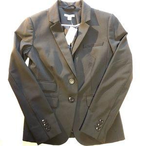 Gap stretch black blazer, NWT
